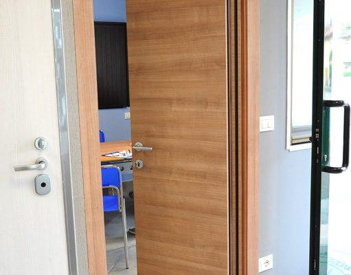 particolare porta soffietto